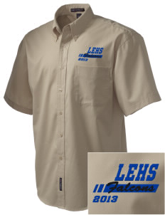 Lutheran High School East Falcons Embroidered Men's Easy Care Shirt