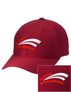 Hawaii Seasider Embroidered Wool Adjustable Cap