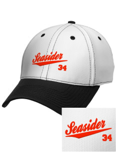 Hawaii Seasider Embroidered New Era Snapback Performance Mesh Contrast Bill Cap