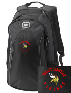 Valley Christian High School Vikings Embroidered OGIO Marshall Backpack