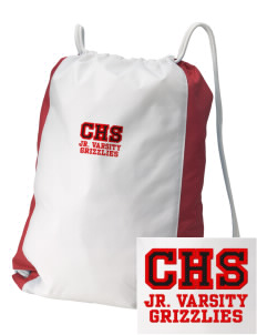 Carrizozo High School Grizzlies Embroidered Holloway Home and Away Cinch Bag