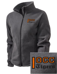 Orange City Christian School Tigers Embroidered Women's Fleece Full-Zip Jacket