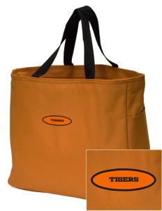 Orange City Christian School Tigers Embroidered Essential Tote