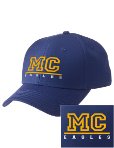 Morningside Christian School Eagles  Embroidered New Era Adjustable Structured Cap