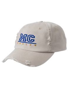 Morningside Christian School Eagles Embroidered Distressed Cap