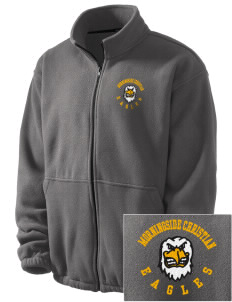 Morningside Christian School Eagles Embroidered Men's Fleece Jacket