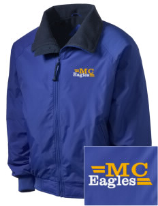 Morningside Christian School Eagles Embroidered Men's Fleece-Lined Jacket