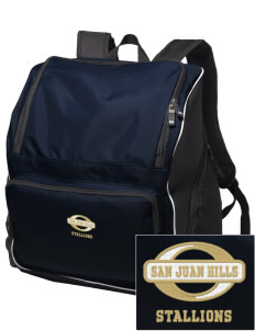 San Juan Hills High School Stallions Embroidered Holloway Duffel Bag
