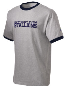 San Juan Hills High School Stallions Champion Men's Ringer T-Shirt