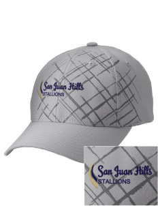 San Juan Hills High School Stallions Embroidered Mixed Media Cap