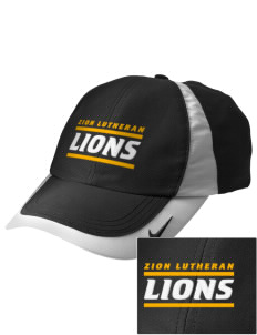 Zion Lutheran School Lions Embroidered Nike Golf Colorblock Cap
