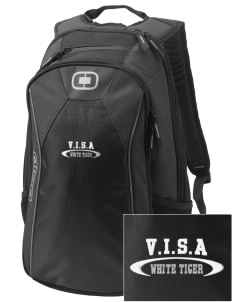 V.I.S.A White Tiger Embroidered OGIO Marshall Backpack