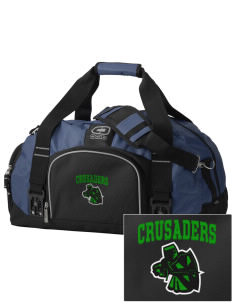 Watson Groen Christian School Crusaders  Embroidered OGIO Big Dome Duffel Bag