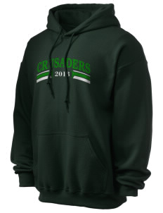 Watson Groen Christian School Crusaders Ultra Blend 50/50 Hooded Sweatshirt