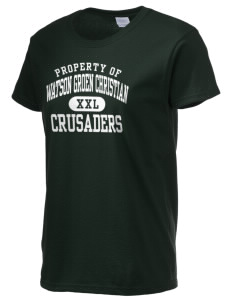 Watson Groen Christian School Crusaders Women's 6.1 oz Ultra Cotton T-Shirt