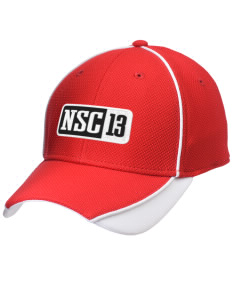 North Seattle Christian School Lions Embroidered New Era Contrast Piped Performance Cap