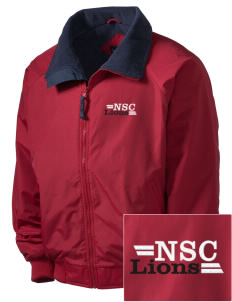 North Seattle Christian School Lions Embroidered Men's Fleece-Lined Jacket