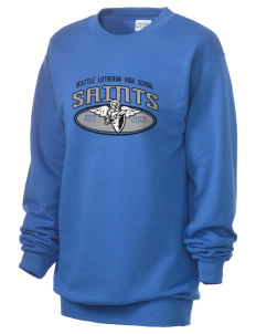 Seattle Lutheran High School Saints Unisex 7.8 oz Lightweight Crewneck Sweatshirt