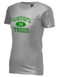 Islamic School Of Seattle Trees Alternative Women's Basic Crew T-Shirt