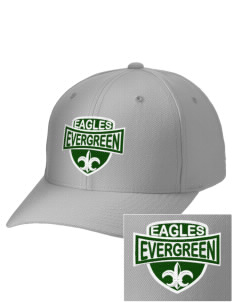 Evergreen Academy Eagles Embroidered Wool Adjustable Cap