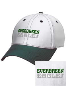 Evergreen Academy Eagles Embroidered New Era Snapback Performance Mesh Contrast Bill Cap