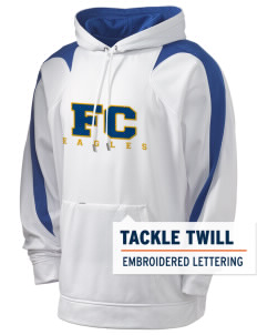 Fairview Christian School Eagles Holloway Men's Sports Fleece Hooded Sweatshirt with Tackle Twill