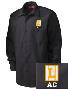 Arlington Christian School Lions Embroidered Men's Industrial Work Shirt - Regular