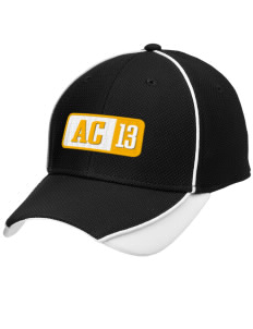 Arlington Christian School Lions Embroidered New Era Contrast Piped Performance Cap
