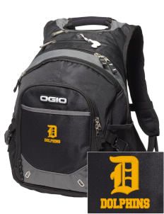 Soundview Private School Dolphins Embroidered OGIO Fugitive Backpack