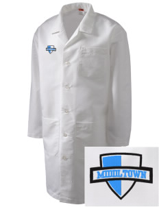 Middltown Middle School bronco Full-Length Lab Coat