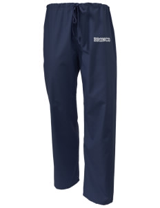Middltown Middle School bronco Scrub Pants