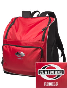 Claiborne Academy Rebels Embroidered Holloway Backpack