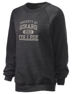 Girard College Cavaliers Unisex Alternative Eco-Fleece Raglan Sweatshirt