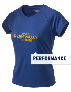 Ridgevalley School  Champion Women's Wicking T-Shirt