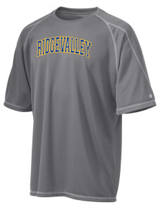 Ridgevalley School  Champion Men's 4.1 oz Double Dry Odor Resistance T-Shirt