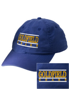 Goldfield School Bears Embroidered Vintage Adjustable Cap
