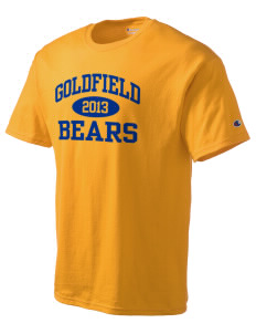 Goldfield School Bears Champion Men's Tagless T-Shirt
