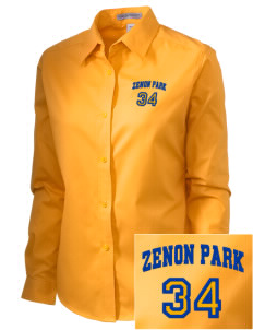 Zenon Park School  Embroidered Women's Easy-Care Shirt