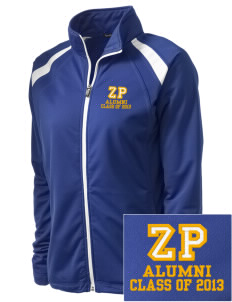 Zenon Park School  Embroidered Women's Tricot Track Jacket