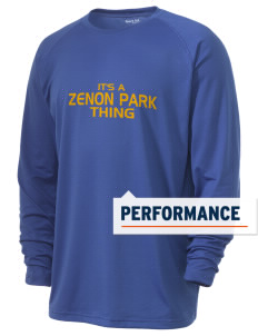 Zenon Park School  Men's Ultimate Performance Long Sleeve T-Shirt