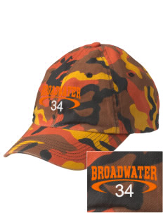 Broadwater Elementary School Gorillas Embroidered Camouflage Cotton Cap