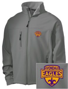 Avondale Elementary School Eagles Embroidered Men's Soft Shell Jacket