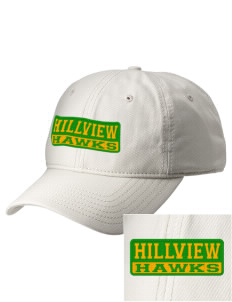 Hillview Elementary School Hawks  Embroidered New Era Adjustable Unstructured Cap