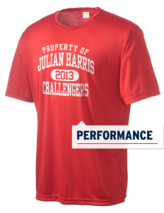 Julian Harris Elementary School Challengers Men's Competitor Performance T-Shirt