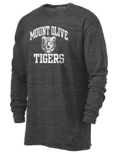 Mount Olive Elementary School Tigers Alternative Men's 4.4 oz. Long-Sleeve T-Shirt