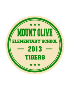 Mount Olive Elementary School Tigers Sticker