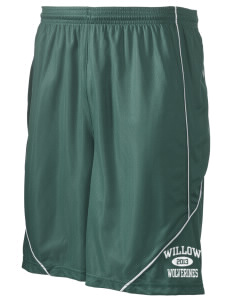 "Willow Elementary School Wolverines Men's Pocicharge Mesh Reversible Short, 9"" Inseam"