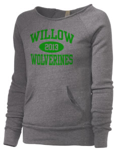Willow Elementary School Wolverines Alternative Women's Maniac Sweatshirt