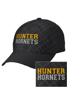 Hunter Elementary School Hornets Embroidered Mixed Media Cap