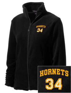 Hunter Elementary School Hornets Embroidered Women's Wintercept Fleece Full-Zip Jacket